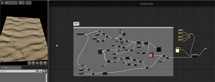 Creating sand footprints in Unreal Engine 4 - wacki